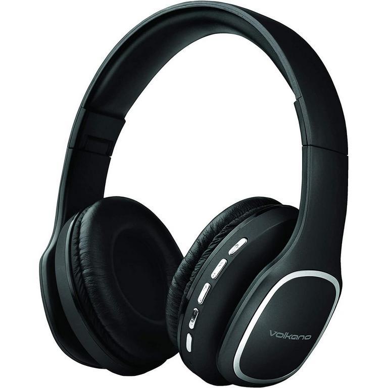 Phonic Series Bluetooth Full Size Black Headphones