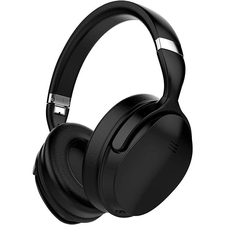 X Silenco Series Active Noise Cancelling Bluetooth Black Headphones