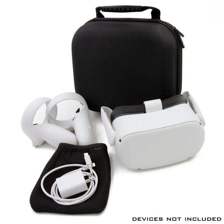 Slim Hard Shell Black Protective Case for Oculus Quest 2 VR