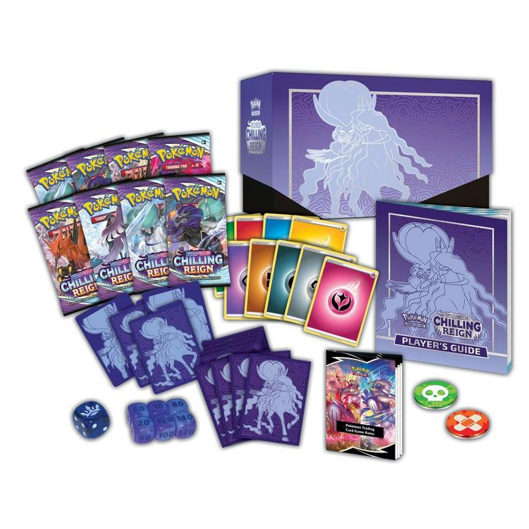 Pokemon Trading Card Game: Sword and Shield Chilling Reign Elite Trainer Box