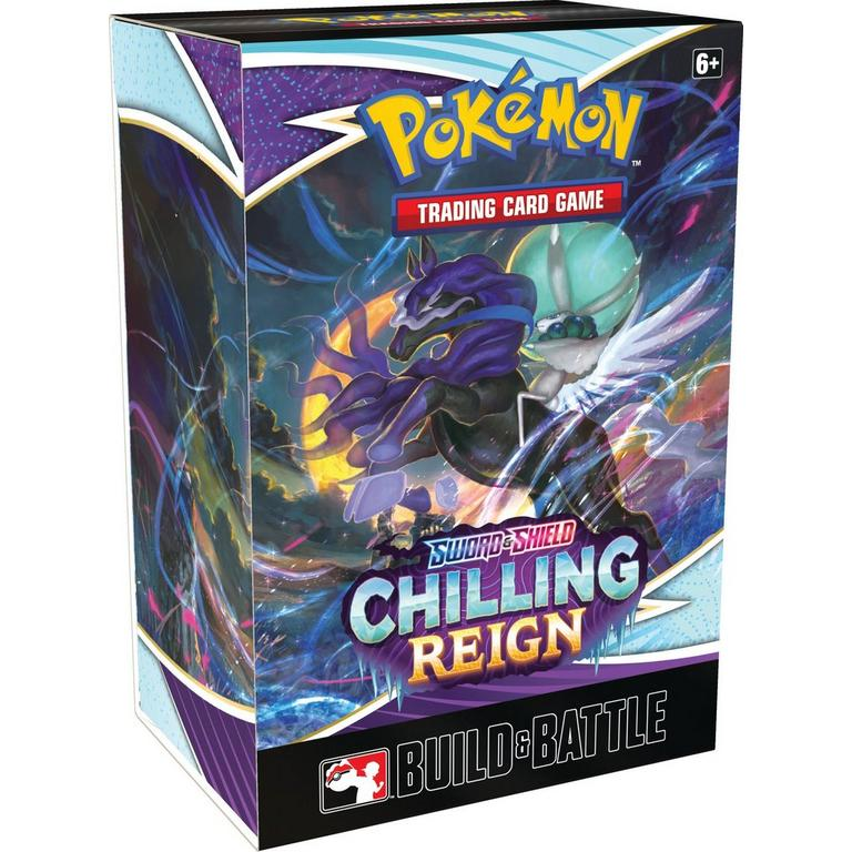 Pokemon Trading Card Game: Sword and Shield Chilling Reign Build and Battle Box