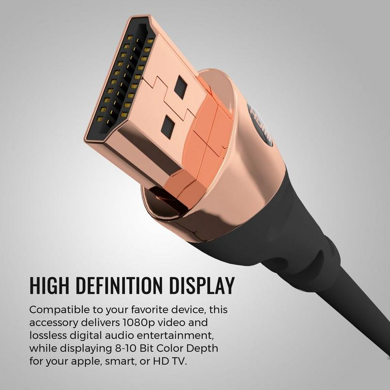 Ultra HD 4K Gold HDMI Cable 8 ft