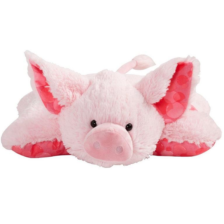 Sweet Scented Bubble Gum Pig Pillow Pet