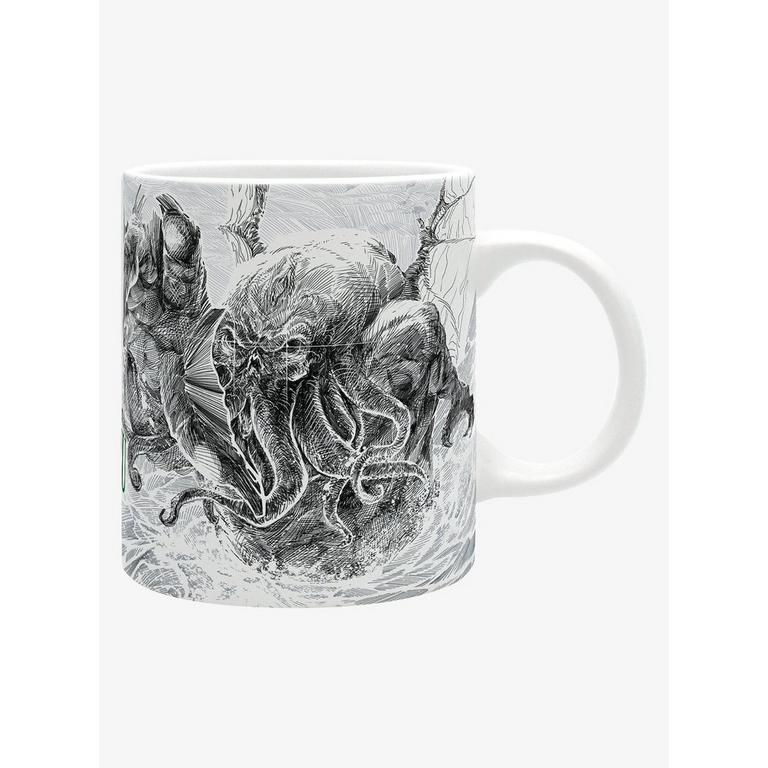 Cthulhu Mug Journal and Keychain Gift Set