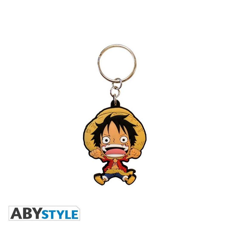 One Piece Monkey D Luffy Mug Notebook and Keychain Gift Set