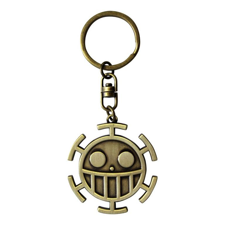 One Piece The Straw Hat Pirates and The Heart Pirates Jolly Rogers Keychain Set