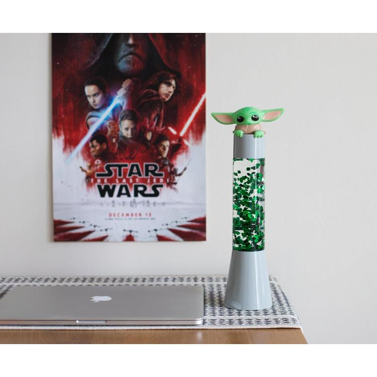 Star Wars The Mandalorian The Child Glitter Lamp Light