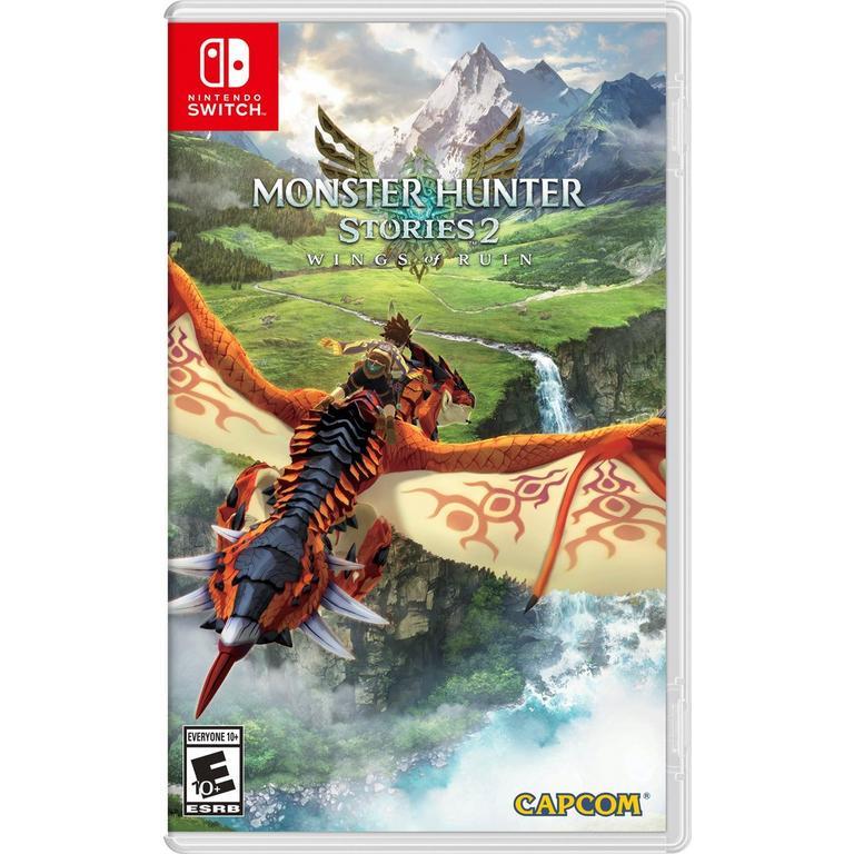 Digital Preorder Monster Hunter Stories 2: Wings of Ruin Nintendo Switch Games Capcom GameStop