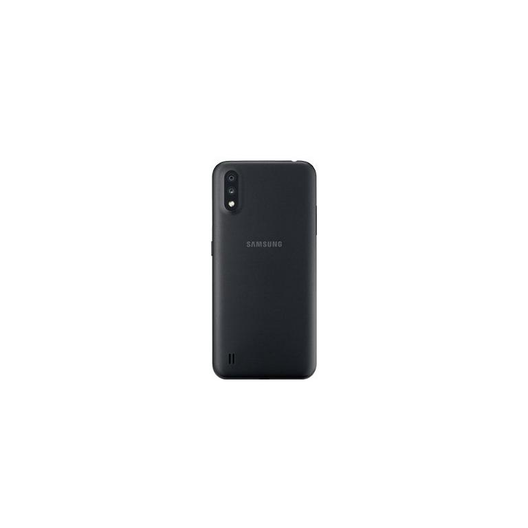 Samsung Galaxy A01 RFB Phone and Page Plus Prepaid 3 Month $55 Unlimited Plan Bundle