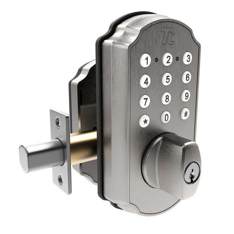 TurboLock TL115 Smart Lock with Keypad and Voice Prompts