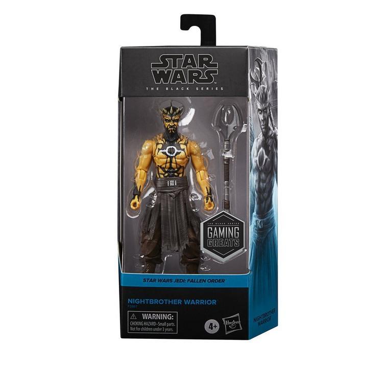 Star Wars Jedi: Fallen Order Nightbrother Warrior The Black Series Action Figure Only at GameStop