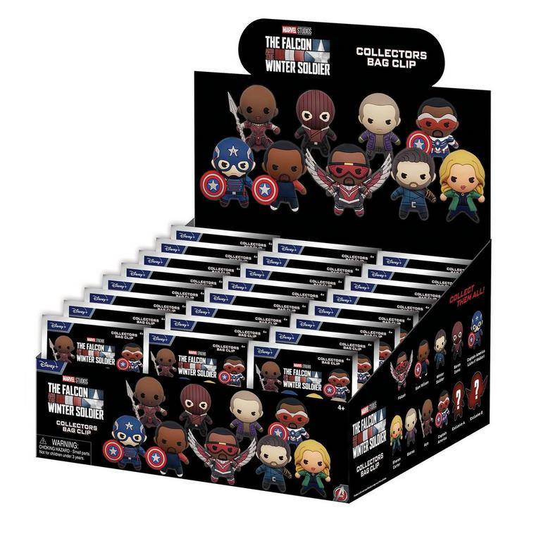 The Falcon and the Winter Soldier 3D Foam Bag Clip Blind Bag