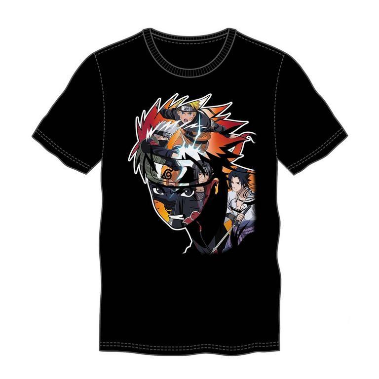 Naruto Shippuden Characters Collage Mens T-Shirt