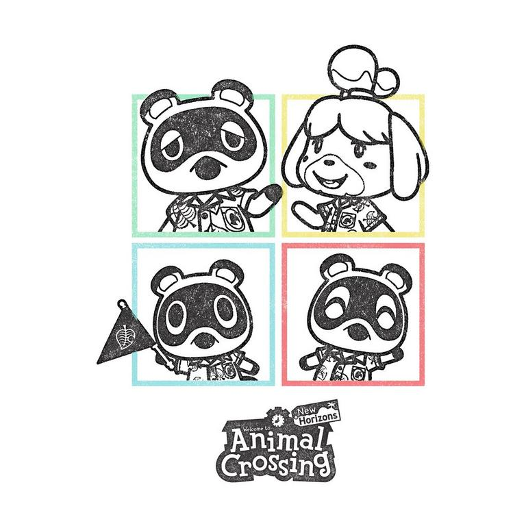 Animal Crossing: New Horizons Friends Mens T-Shirt