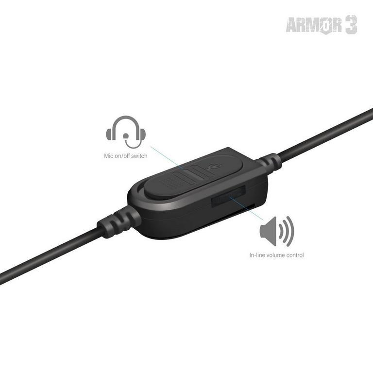 SoundTac Armor3 Red Gaming Headset