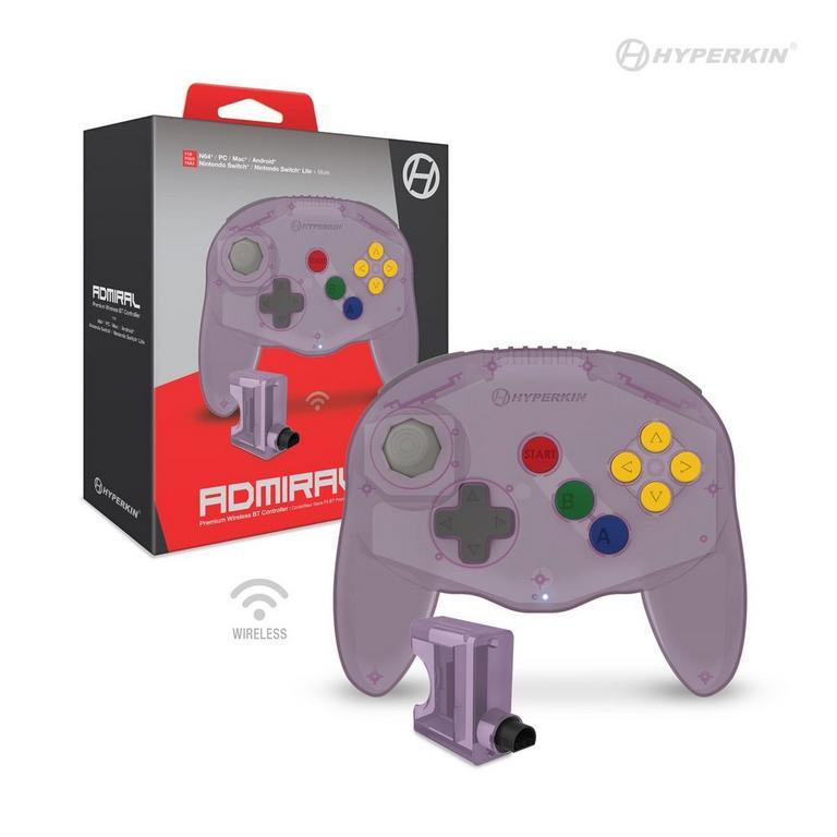 Admiral Premium Bluetooth Amethyst Purple Controller