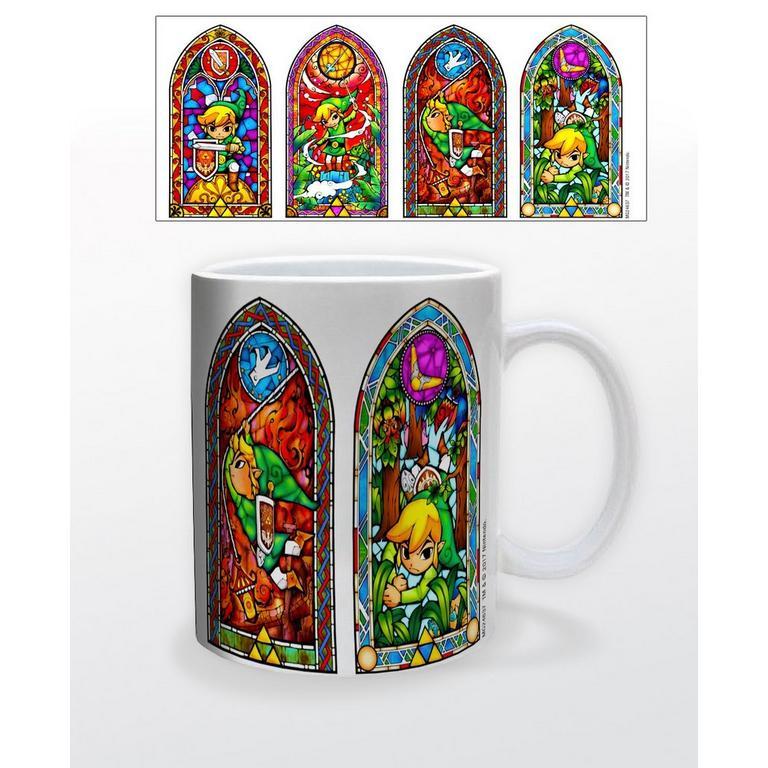 The Legend of Zelda: Wind Waker Stained Glass Mug