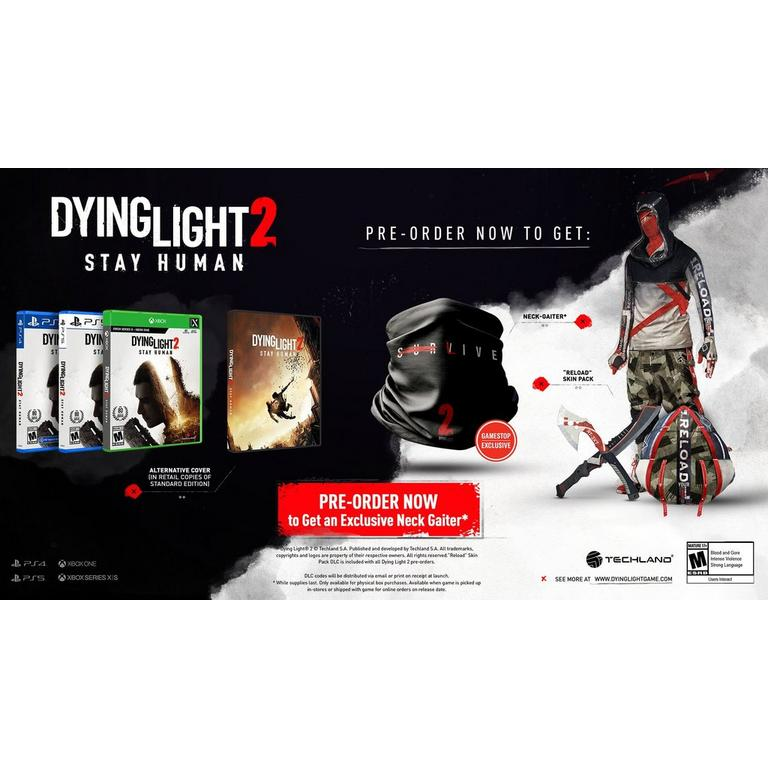 Dying Light 2 Stay Human Deluxe Edition - PlayStation 5