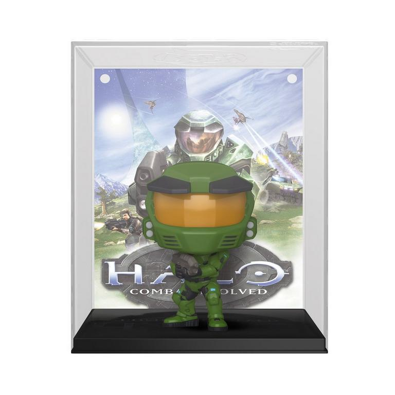 Funko POP! Game Cover: Halo Combat Evolved Master Chief Only at GameStop
