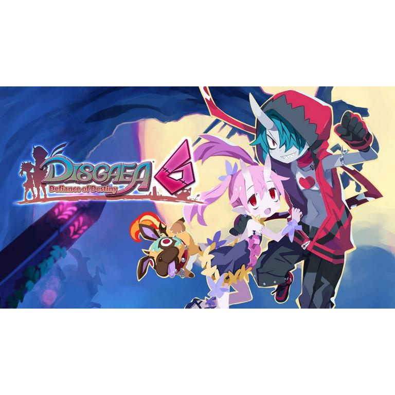 Digital Preorder Disgaea 6: Defiance of Destiny Nintendo Switch Games Nippon Ichi Software GameStop