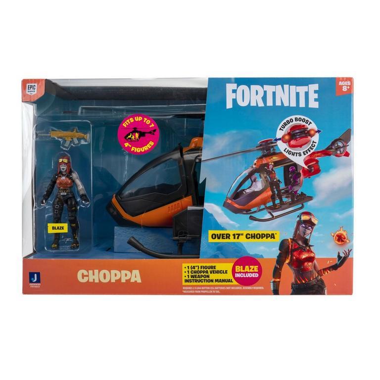 Fortnite Choppa and Blaze Feature Vehicle