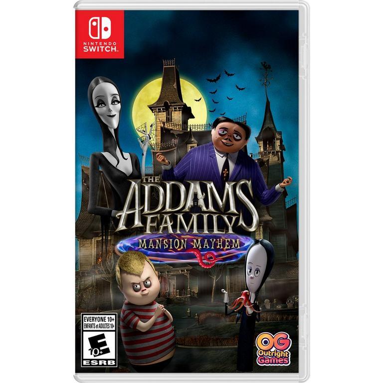 The Addams Family: Mansion Mayhem - Nintendo Switch