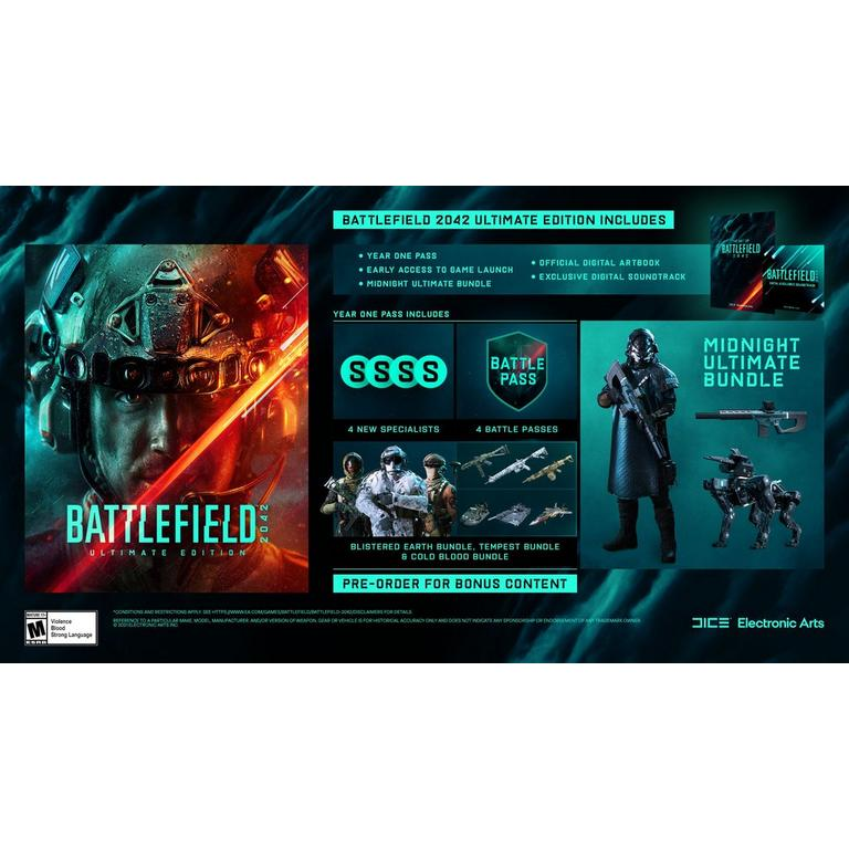 Battlefield 2042 Ultimate Edition - Xbox One