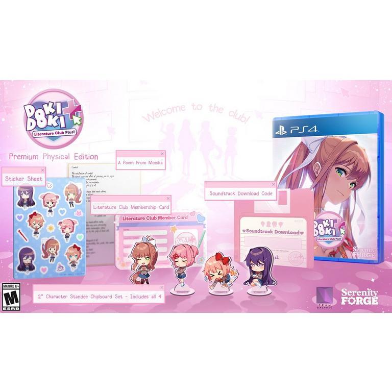 Doki Doki Literature Club Plus! Premium Edition  - PlayStation 4