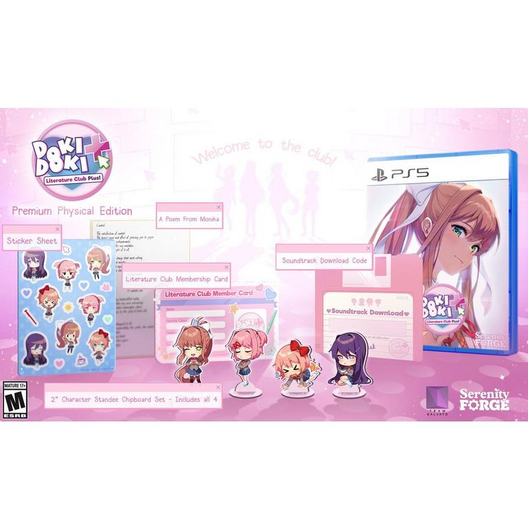 Doki Doki Literature Club Plus! Premium Edition  - PlayStation 5