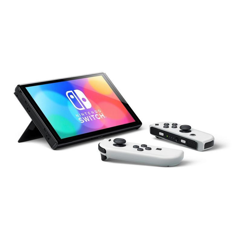 Nintendo Switch OLED with White Joy-Con