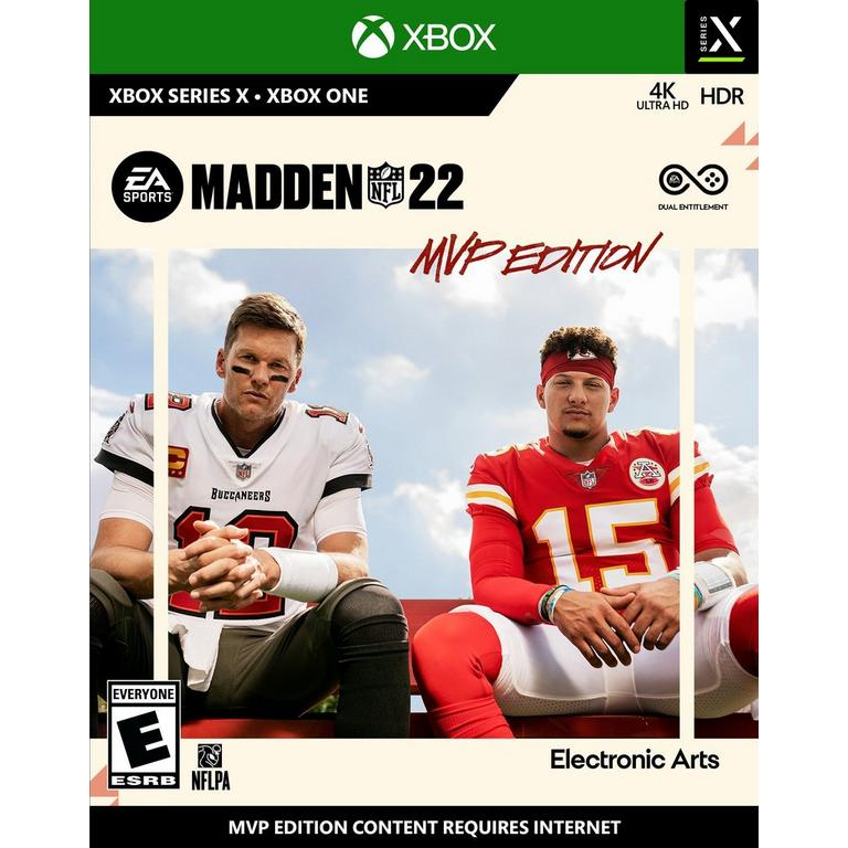 Preorder Madden NFL 22 MVP Edition - Xbox One Xbox One Games Electronic Arts GameStop