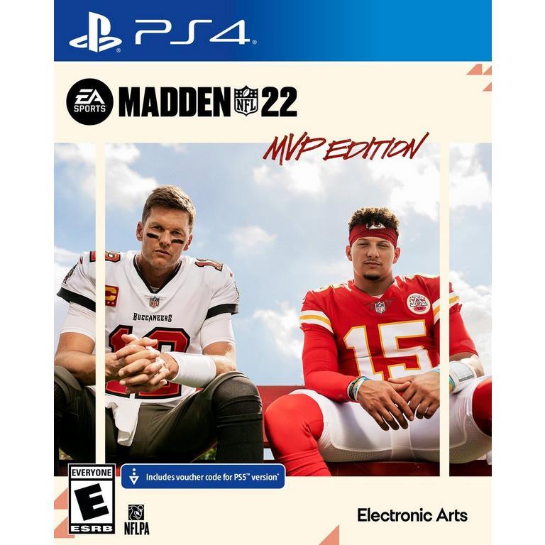 Preorder Madden NFL 22 MVP Edition - PlayStation 4 PS4 Games Sony GameStop