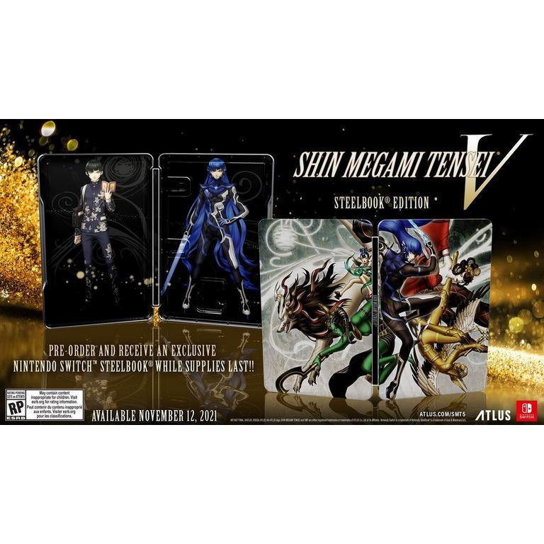 Shin Megami Tensei V Steelbook Launch Edition - Nintendo Switch