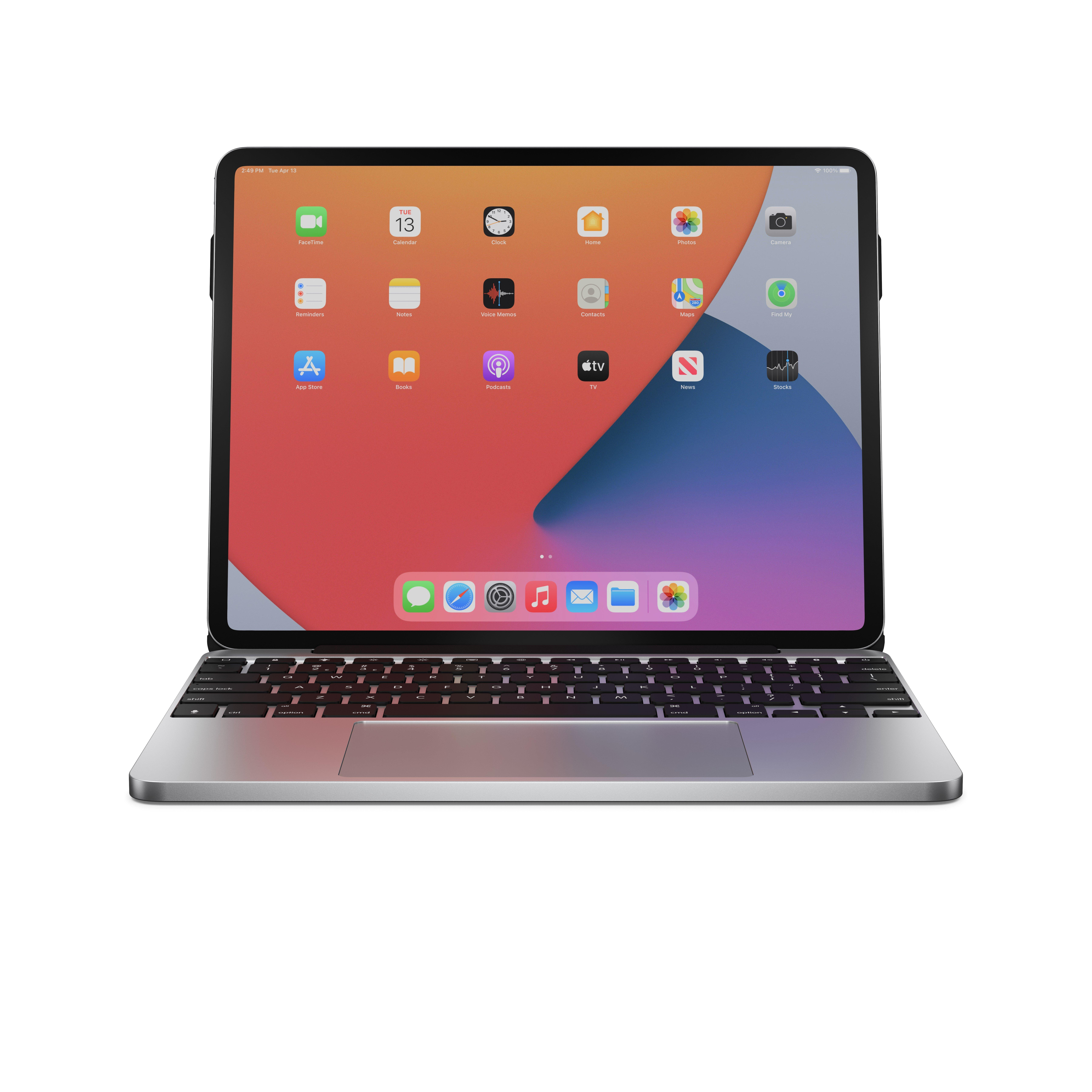 Brydge 12.9 MAX Plus Wireless Keyboard with Trackpad for iPad Pro 12.9 in   Game Stop