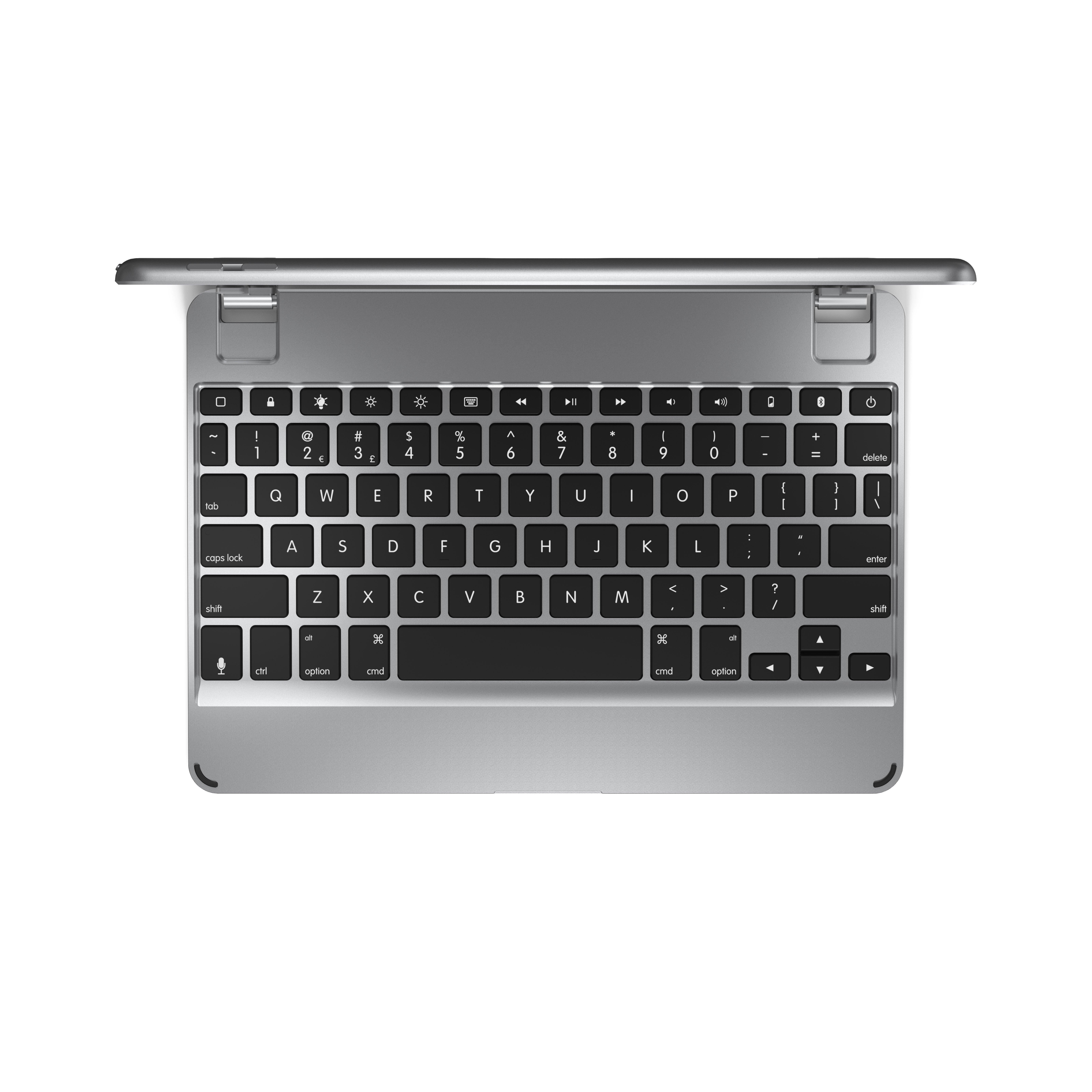 Brydge 9.7 Bluetooth Keyboard for iPad 9.7 in Silver | Game Stop