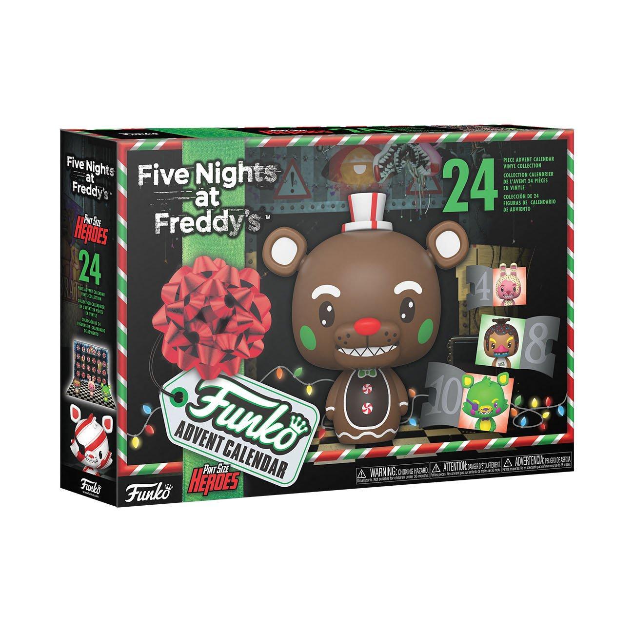 Funko Advent Calendar Five Nights at Freddy's Blacklight 2021 Countdown Calendar