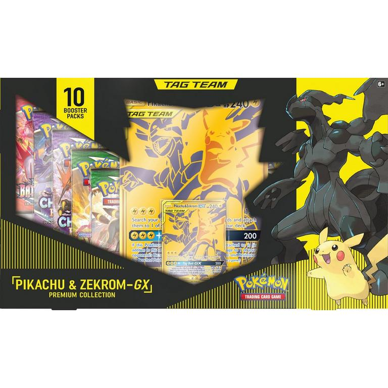Pokemon Trading Card Game: Pikachu and Zekrom-GX Premium Collection