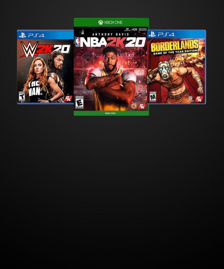 Save on select 2K games