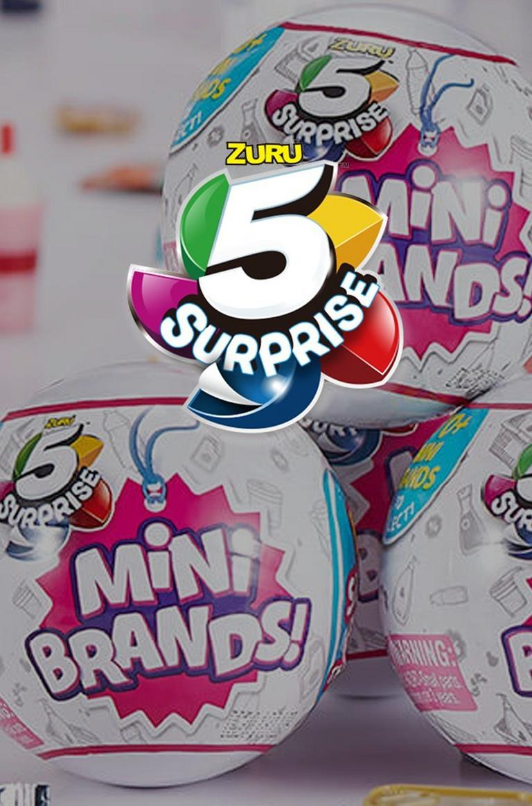 5 Surprise Mini Brands