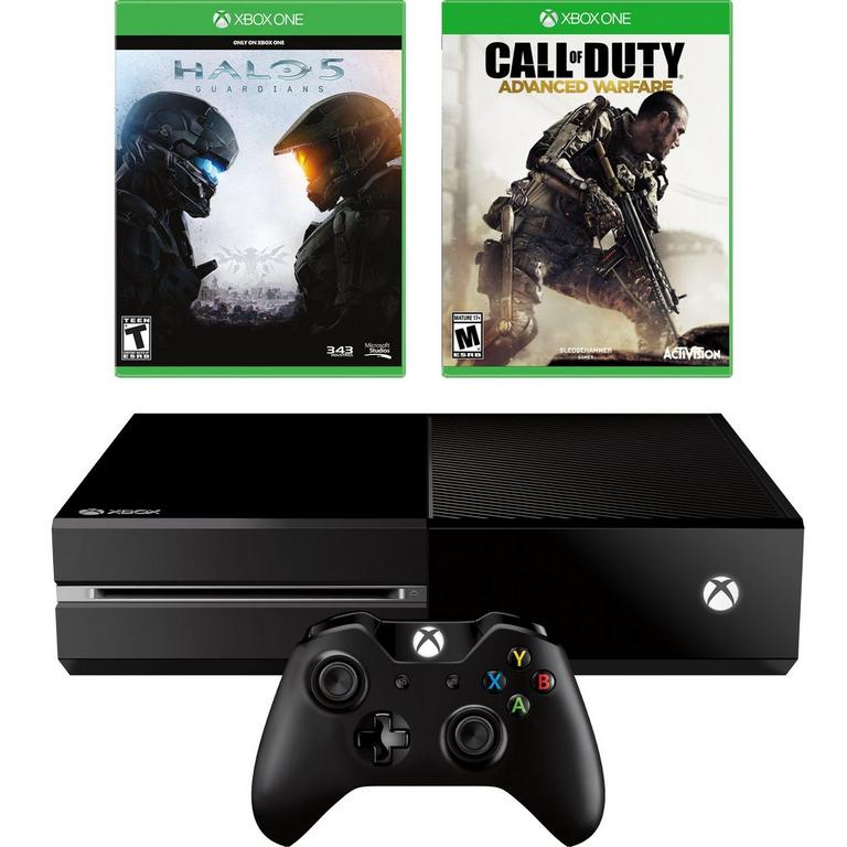 Xbox One Blast from the Past Shooter Fan Console GameStop Premium Refurbished System Bundle