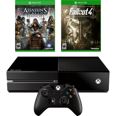 Xbox One Blast from the Past Open World GameStop Premium Refurbished System Bundle