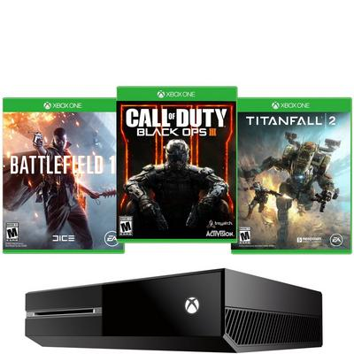 Xbox One Best-of Shooter Blast from the Past GameStop Premium Refurbished System Bundle