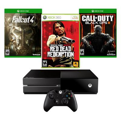 Xbox One Redemption Blast from the Past GameStop Premium Refurbished System Bundle