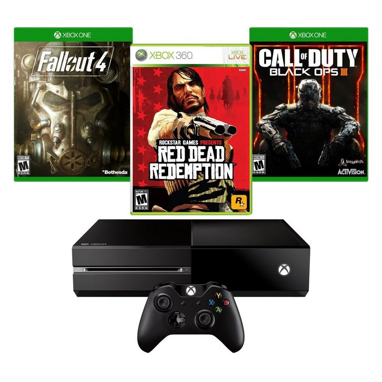 Xbox One Redemption Blast from the Past GameStop Premium Refurbished System Bundle