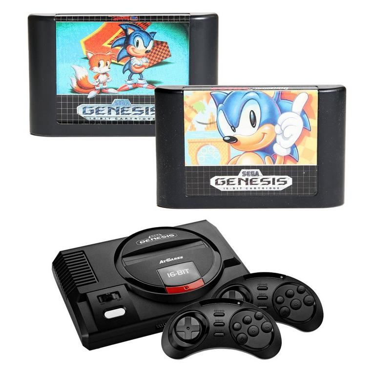 Sega Genesis Best of Sonic Blast from the Past Preowned System Bundle