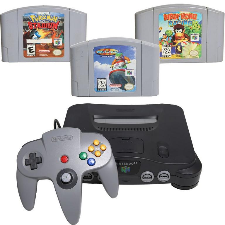 Nintendo 64 Competition Blast from the Past System Bundle