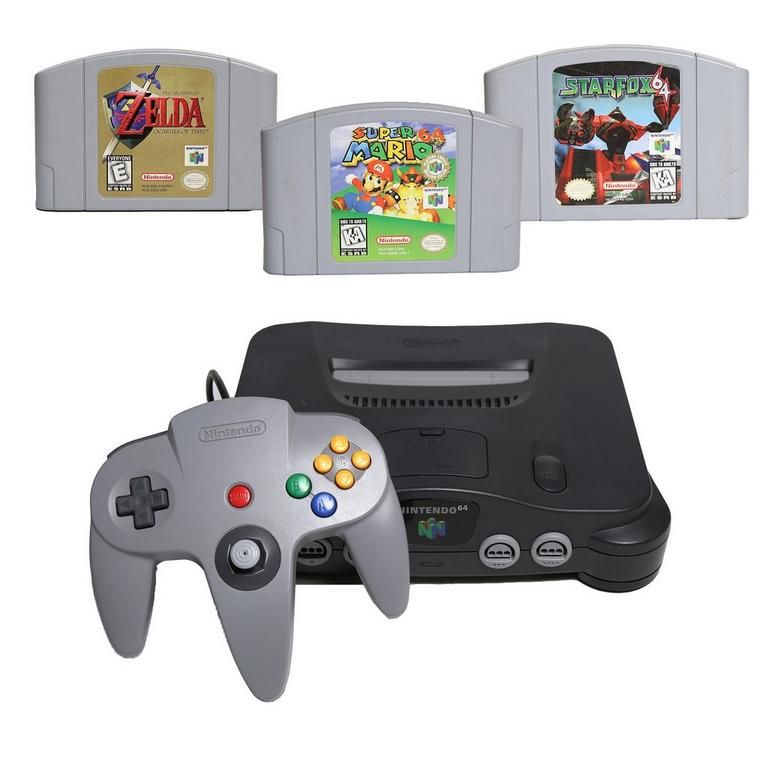 Nintendo 64 Heroes Blast from the Past System Bundle (Used)