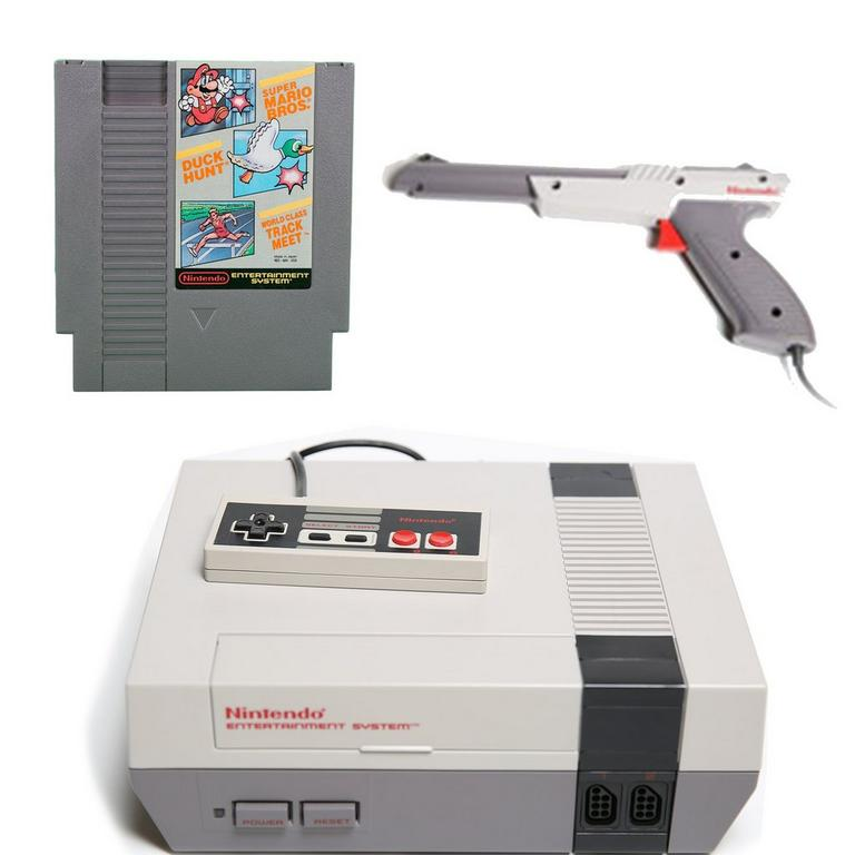 NES Starter Blast from the Past System Bundle