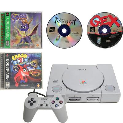 PlayStation One Best-of Platformers Blast from the Past System Bundle