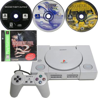PlayStation One Mature Hits Blast from the Past Preowned System Bundle